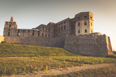 Castelo de Krzyztopor perto de Opatow, Polônia Imagens de Stock Royalty Free