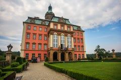 Castelo de Ksiaz em Poland foto de stock