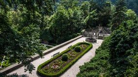 Castelo de Ksiaz no Polônia Fotografia de Stock Royalty Free