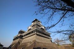 Castelo de Kumamoto fotos de stock royalty free