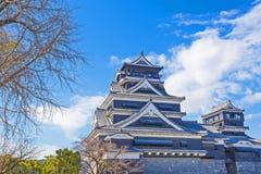 Castelo de Kumamoto em Japão Foto de Stock Royalty Free