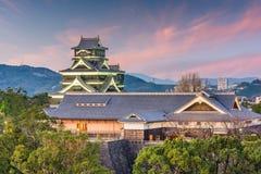 Castelo de Kumamoto, Japão Fotografia de Stock