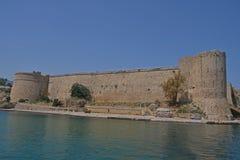 Castelo de Kyrenia, Kyrenia (Girne), Chipre do norte Fotos de Stock