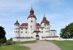 Castelo de Läckö Imagens de Stock Royalty Free