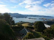 Castelo de Larnach, Dunedin, Nova Zelândia imagem de stock