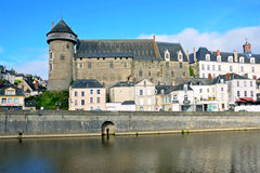 Castelo de Laval Fotografia de Stock