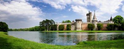Castelo de Laxenburg perto de Viena fotos de stock