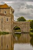 Castelo de Leeds Kent fotografia de stock royalty free