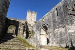 Castelo de Leiria, Portugal fotos de stock