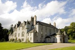 Castelo de Leith Salão fotos de stock royalty free