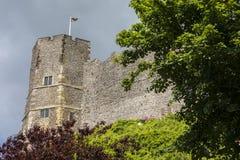Castelo de Lewes em Sussex do leste Imagem de Stock