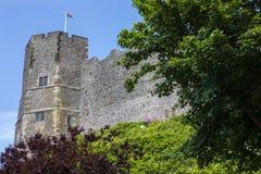 Castelo de Lewes em Sussex do leste Fotografia de Stock