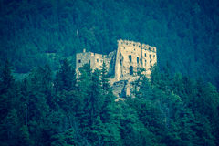 Castelo de Likava, Eslováquia imagens de stock
