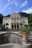 Castelo de Linderhof Fotos de Stock Royalty Free