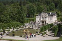 Castelo de Linderhof Foto de Stock