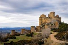 Castelo de Loarre mim foto de stock royalty free