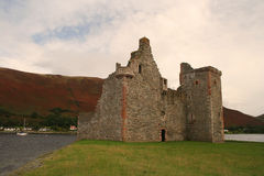Castelo de Lochranza, ilha de Arran Imagem de Stock