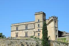 Castelo de Lourmarin Foto de Stock Royalty Free