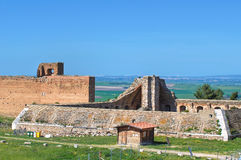 Castelo de Lucera. Puglia. Italy. imagem de stock royalty free