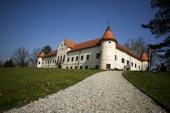 Castelo de Luznica perto de Zapresic Fotos de Stock Royalty Free