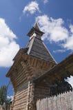 Castelo de madeira feericamente Imagens de Stock Royalty Free