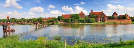 Castelo de Malbork, Poland Foto de Stock