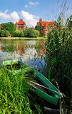 Castelo de Malbork, Poland Imagem de Stock Royalty Free
