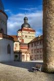Castelo de Marienberg em Wurzburg imagem de stock