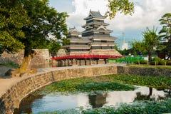 Castelo de Matsumoto Fotografia de Stock Royalty Free