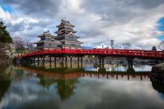 Castelo de Matsumoto Fotos de Stock Royalty Free