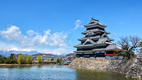 Castelo de Matsumoto Imagens de Stock