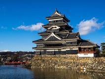 Castelo de Matsumoto Fotografia de Stock