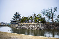 Castelo de Matsumoto em Japão Fotos de Stock