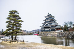Castelo de Matsumoto em Japão Fotografia de Stock Royalty Free