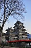 Castelo de Matsumoto, Japão Imagem de Stock Royalty Free