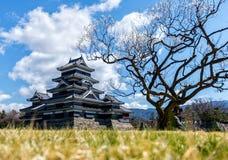 Castelo de Matsumoto, Nagano, Japão Fotografia de Stock Royalty Free