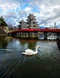 Castelo de Matsumoto, Nagano, Japão Fotos de Stock