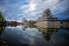Castelo de Matsumoto, Nagano, Japão Foto de Stock Royalty Free