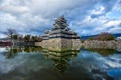 Castelo de Matsumoto, Nagano, Japão Fotos de Stock Royalty Free