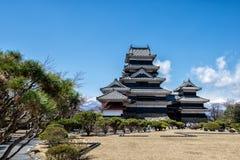 Castelo de Matsumoto, Nagano, Japão Foto de Stock