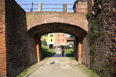 Castelo de Melegnano Imagem de Stock