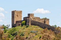 Castelo de Mertola, região do Alentejo de Portugal fotografia de stock royalty free