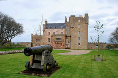 Castelo de Mey. Imagem de Stock