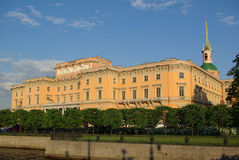 Castelo de Mihaylovskiy Fotos de Stock