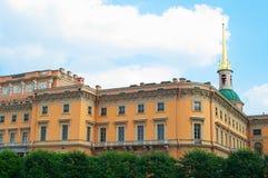 Castelo de Mikhailovsky Fotos de Stock