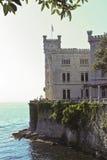 Castelo de Miramare, Trieste, Italy Imagem de Stock