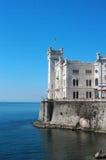 Castelo de Miramare, Trieste, Italy Fotografia de Stock
