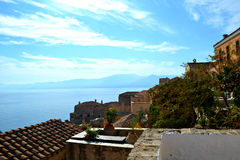 Castelo de Monemvasia Foto de Stock Royalty Free
