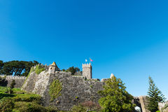 Castelo de Montereal in Baiona Stock Photography