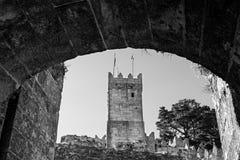 Castelo de Montereal in Baiona Stock Image